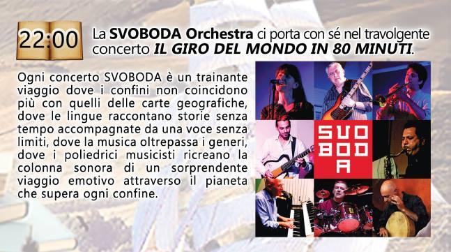 Concerto Svoboda Sabato 16 Aprile 2016